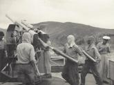 Kanon-bemanning-in-actie-Korea