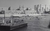 Malta-1952-gezicht-op-de_stad-vanuit-de-haven