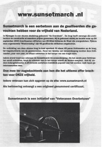 Sunsetmarch Stichting Veteranen de Liemers