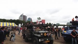 Veteranendag 2016, malieveld, trucks, defilé