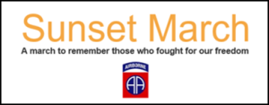 sunsetmarch 2017 stichting veteranen de liemers